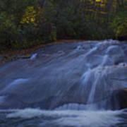 Sliding Rock Falls Poster
