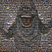 Slimer Mosaic Poster
