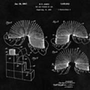 Slinky Patent Design  Poster