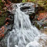 Slippery Rock Falls Fdr State Park Ga Poster
