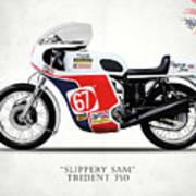 Slippery Sam Production Racer Poster