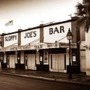 Sloppy Joe's - Key West Florida Poster by Bill Cannon