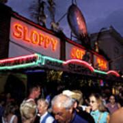 Sloppy Joes Bar Poster
