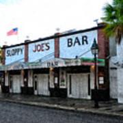 Sloppy Joe's Bar Key West Poster