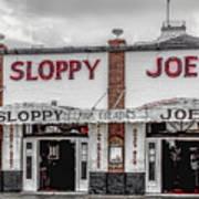 Sloppy Joe's Saloon- Key West Poster