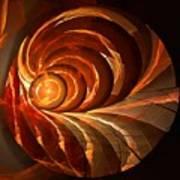 Slot Canyon Spiral Poster
