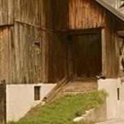Slovenian Barn Poster