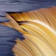 Slow Motion Waterfall Poster by Romeo Koitmae