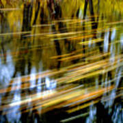 Slow Moving Stream - 2959 Poster
