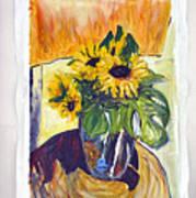 Slunecny-triptych Poster