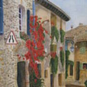 Small French Village Poster