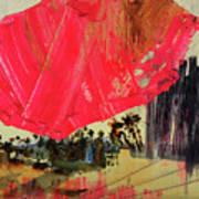 Small Pike Umbrella Poster