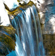 Small Stop Motion Waterfall Poster