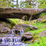 Small Waterfall 1 Poster