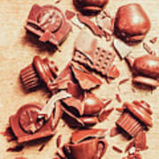 Smashing Chocolate Fondue Party Poster