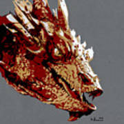 Smaug The Unassessably Wealthy Poster