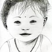 Smiling Child Poster