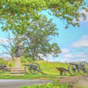 Smiths Battery Devils Den Gettysburg Poster