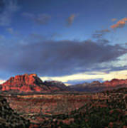 Smithsonian View Of Zion Poster