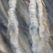 Smoke Painting Poster