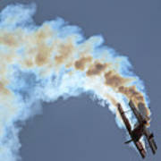Smokey Biplane Poster