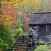 Smokey Mountain Grist Mill Poster