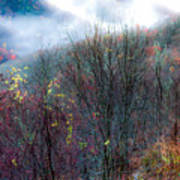 Smokey Mountain Ridge Poster