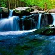 Smokey Mountains Mountain Stream 4 Poster