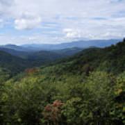 Smoky Mountain View Poster