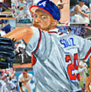 Smoltz Poster by Michael Lee