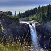Snoqualmie Falls Poster