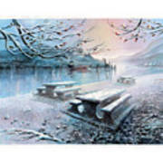 Snow Blanket Poster