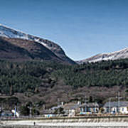 Snow Capped Mourne Mountains Poster