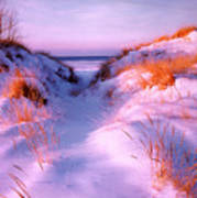 Snow Dune Poster
