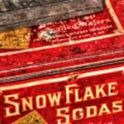 Snow Flake Sodas 767 Poster