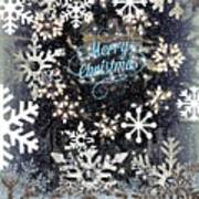 Snow Flakery Wreath 1 Poster