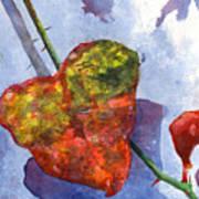 Snow Leaf Poster