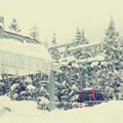 Snow Lift Poster