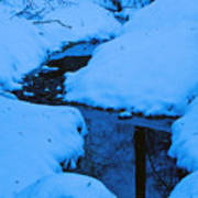 Snow Stream Poster
