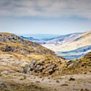 Snowdonia Landscape Poster