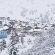 Snowy Resorts Poster