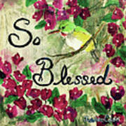 So Blessed Poster