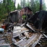 Soap Creek Debris, Real Estate Series Poster