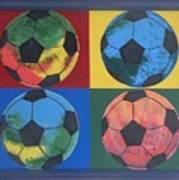 Soccer Balls Poster