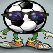 Soccer Cool Poster