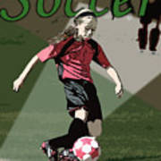 Soccer Style Poster