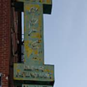 Society Hill Hotel Bar Sign Poster