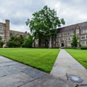 Sociology-psychology Building At Duke University Poster
