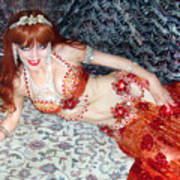 Sofia Metal Queen. Ameynra Bellydance Star Model Poster