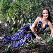 Sofia Of Ameynra. Cybergoth Belly Dancer Poster